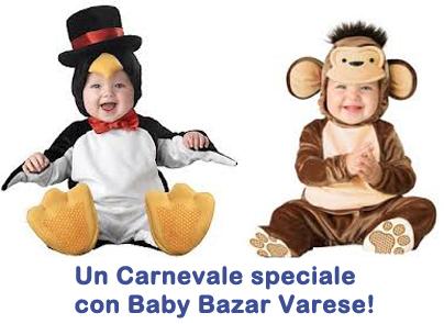 Vestiti di Carnevale: vendi e compra da Baby Bazar Varese!