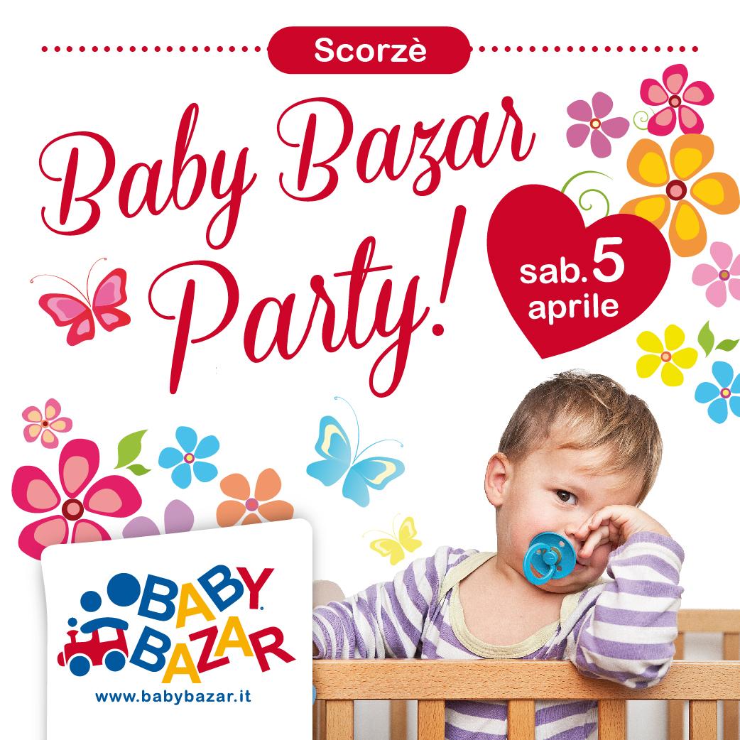 Festeggia la primavera con baby bazar scorz arriva il for Babybazar scorze
