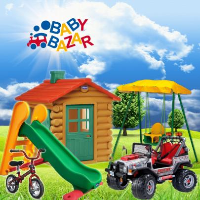 Giochi da esterno al baby bazar di scorze for Babybazar scorze