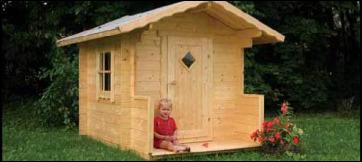 Casette legno bambini usate terminali antivento per for Scivolo chicco usato