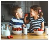 bimbi cibo sano