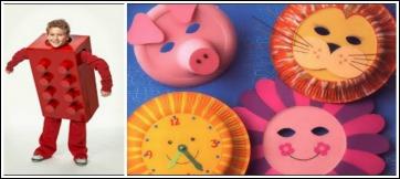 Idee Di Riciclo Lavoretti Creativi Per Bambini A Carnevale