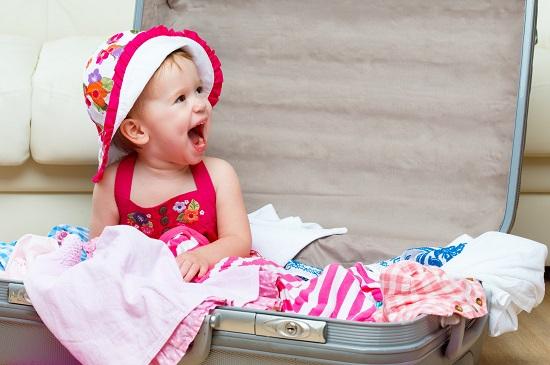 attrezzature da viaggio per bambini