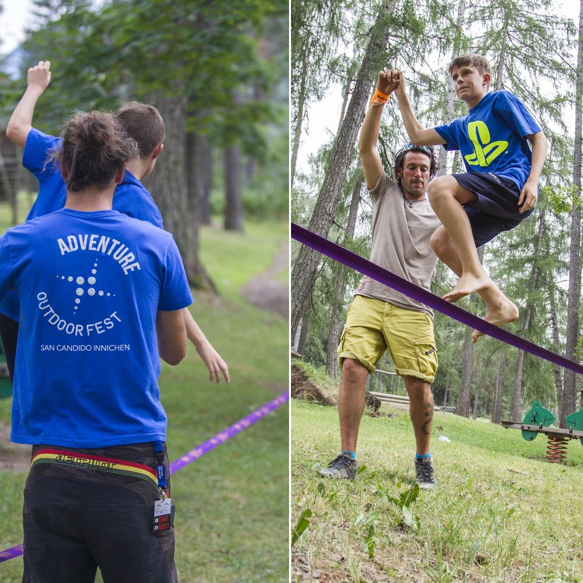 attività per bambini Adventure outdoor festival