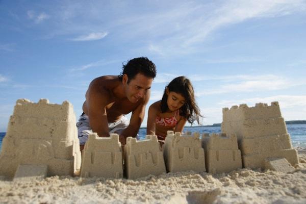 come costruire un castello di sabbia