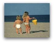 bambini sicuri in spiaggia