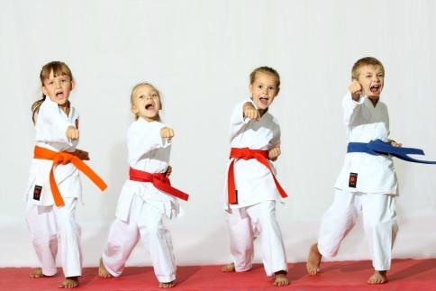 i vantaggi del karate per i bambini
