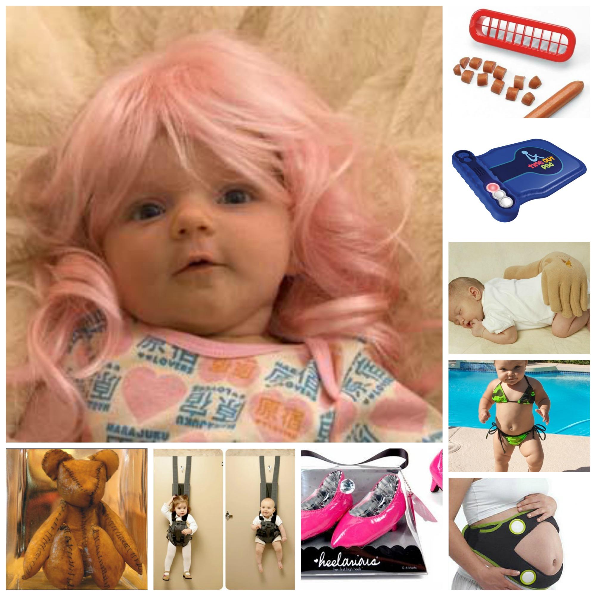 Quando Inizia A Gattonare Neonato 18 regali strani e imbarazzanti per neonati e bimbi