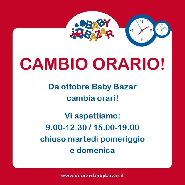 Baby bazar scorz cambia orario di apertura for Babybazar scorze