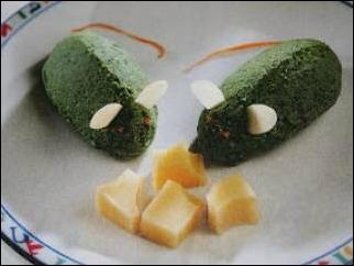 topolini di spinaci