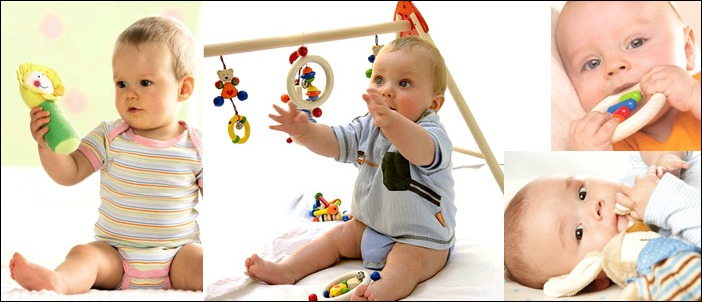 giochi per neonati usati