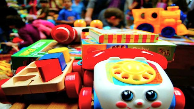 giocattoli usati Natale