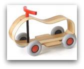 giocattoli in legno usati