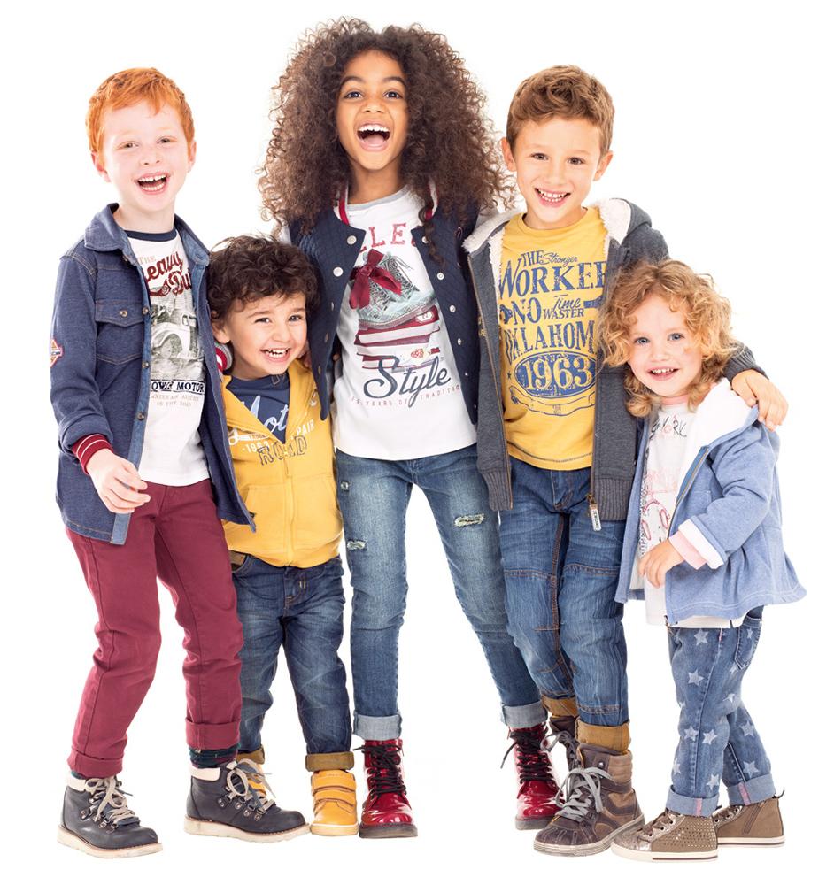 primavera bambini abbigliamento