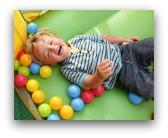 gonfiabili usati per bambini