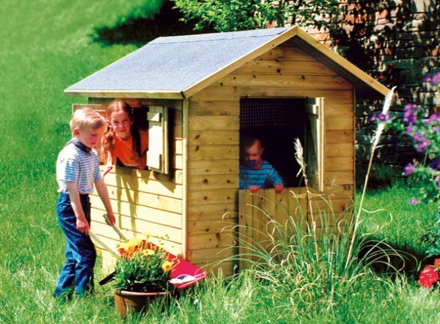 casetta da giardino usata