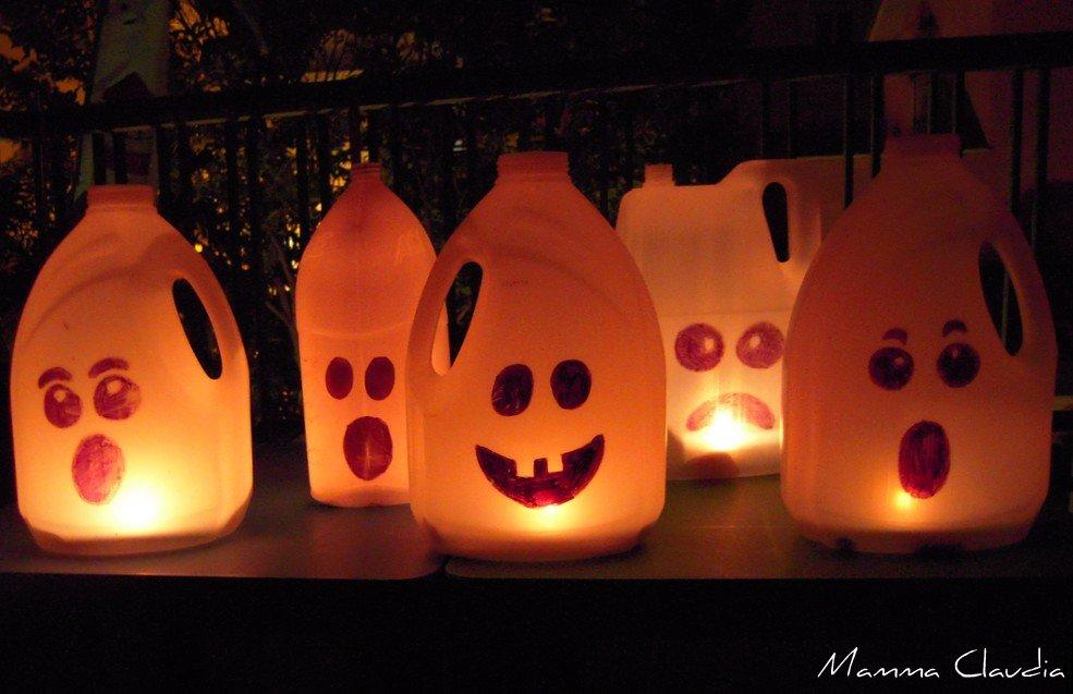 riciclo halloween