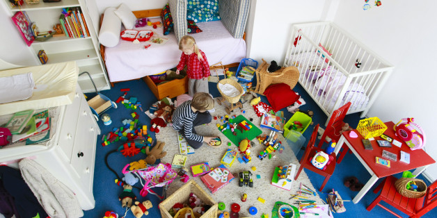 decluttering giocattoli