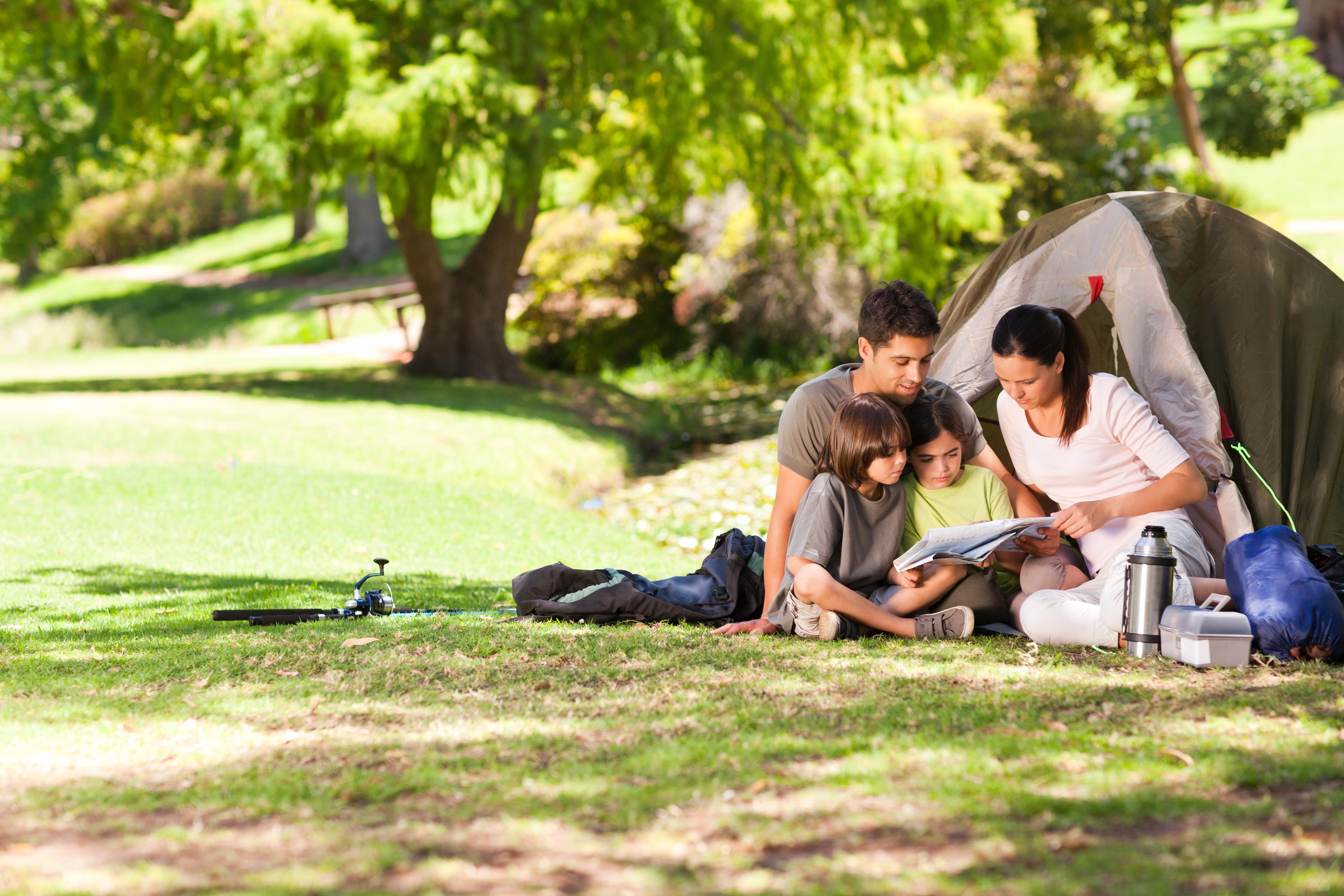campeggio in famiglia