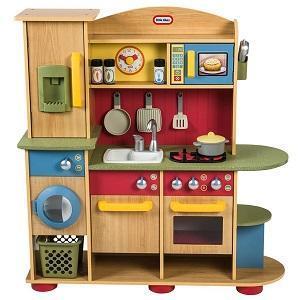 cucina legno giocattolo