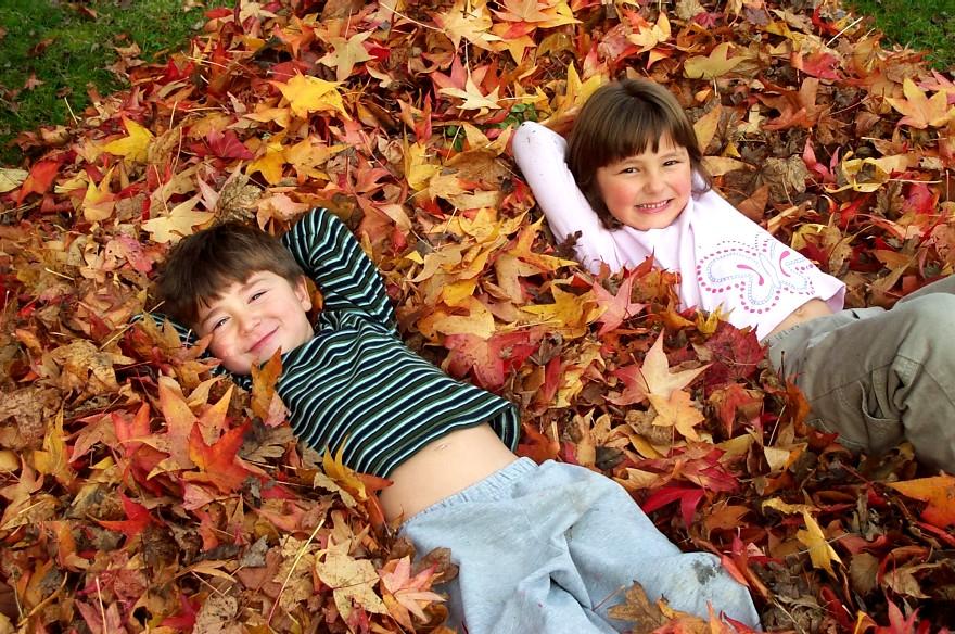 Risultati immagini per cartella bambini autunno
