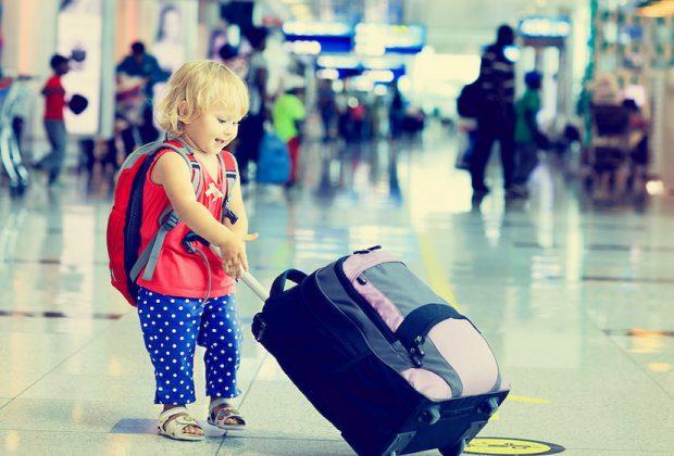 viaggiare con bimbi