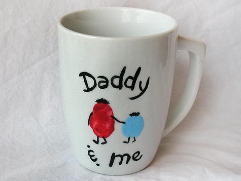 tazza lavoretto papà