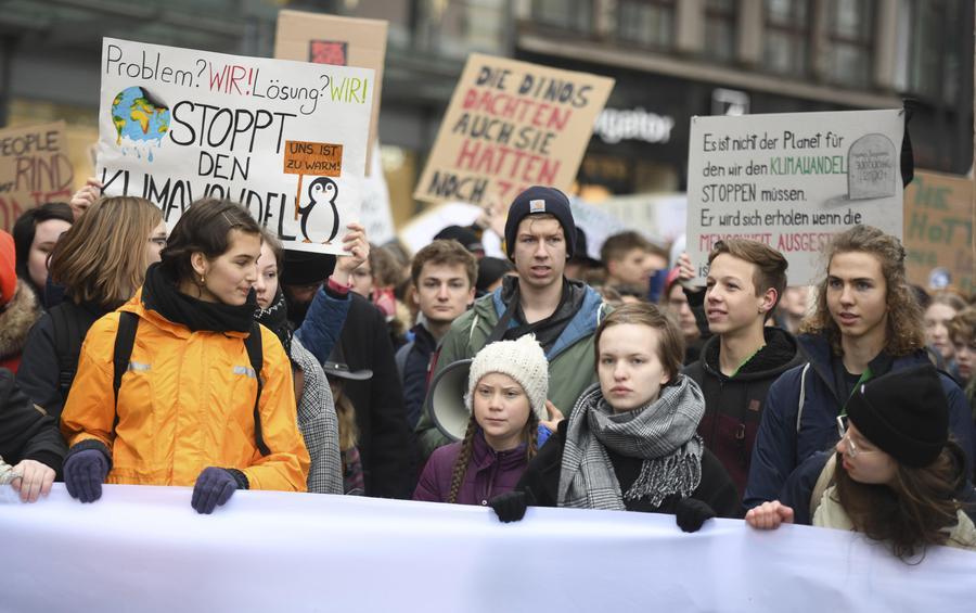 greta thunberg sciopero