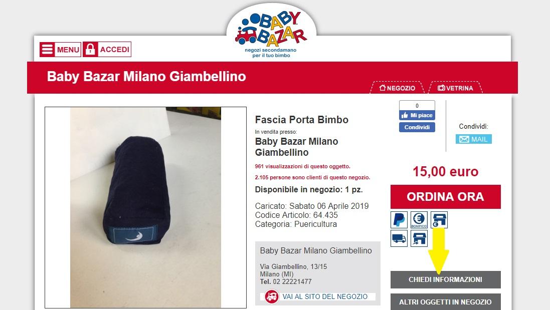 shop online milano giambellino