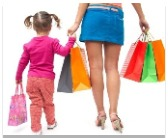 shopping baby bazar