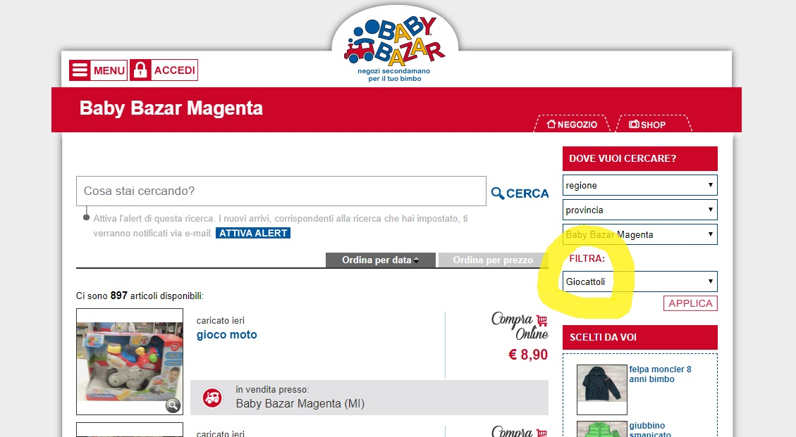 shop magenta