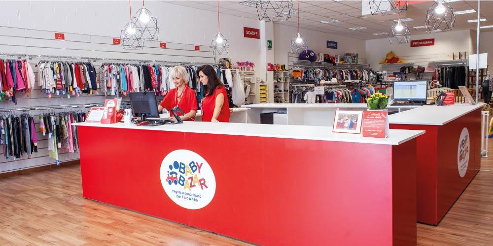 apri un negozio per bambini