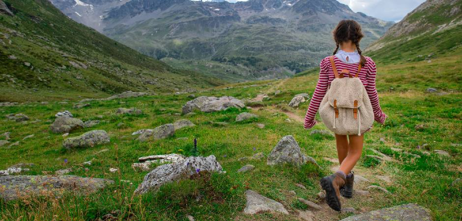 scarponcini da montagna bimba