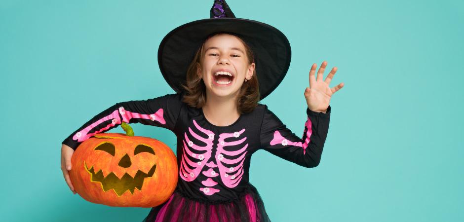 vestito per halloween bimba