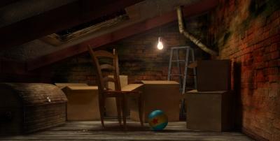 Baby bazar scorze 39 for Garage con soffitta