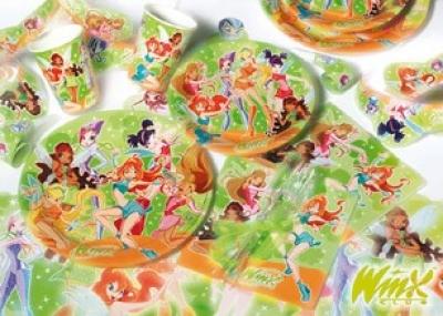 Stock di articoli per feste dei cartoni animati al tuo for Babybazar scorze