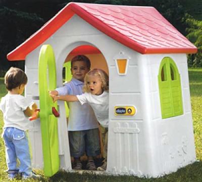 Giochi da esterno usati al baby bazar scorze 39 for Casetta da giardino per bambini usata